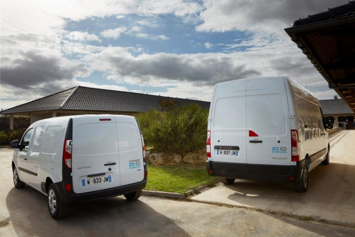 Groupe Renault introduces hydrogen into its light commercial vehicles range