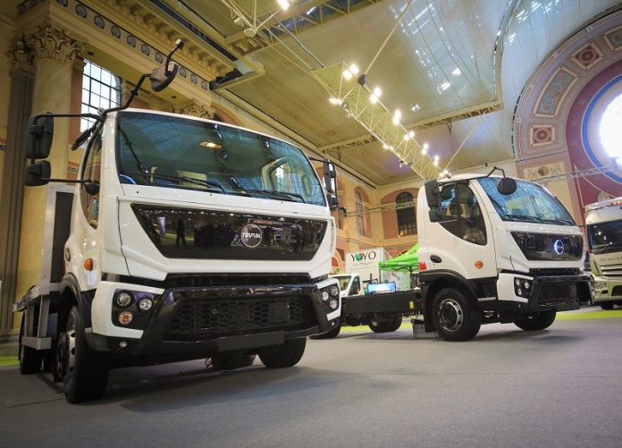 TEVVA electric medium duty HGVs