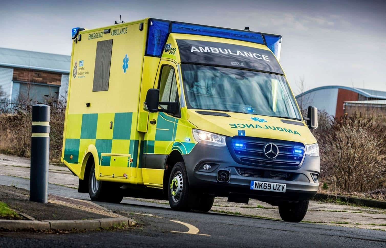 Essential Fleet Operator North East Ambulance Service ... on ( ̄︶ ̄)↗  id=56478