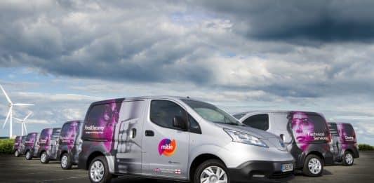 Mitie Electric Vans
