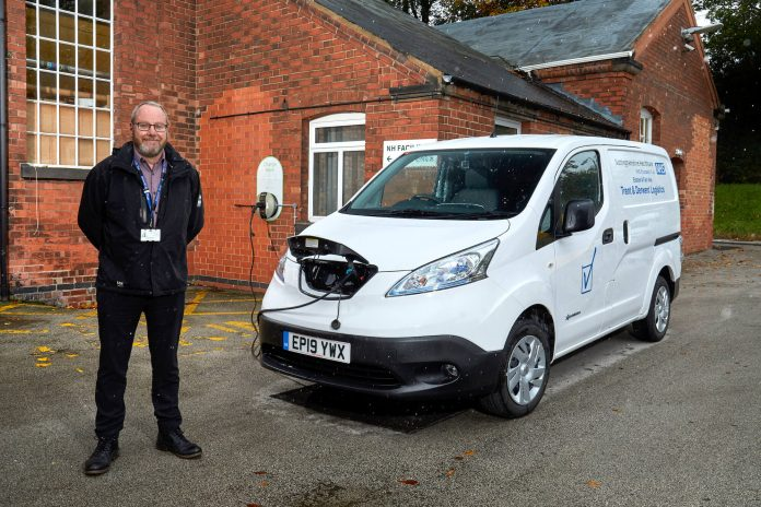 DriveElectric ULEV Experience NHS Nissan e-NV200