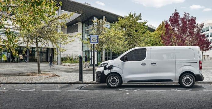 All-ëlectric Citroën ë-Dispatch van