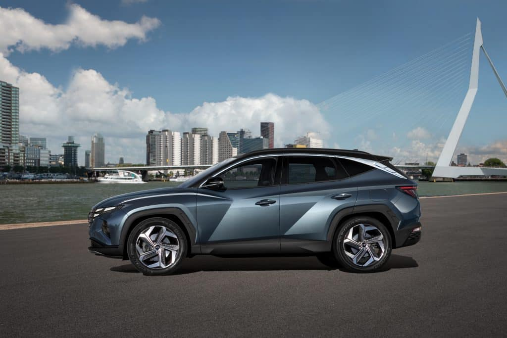 The all-new Hyundai Tucson