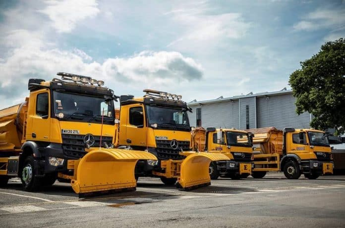 Gritters worcestershire council