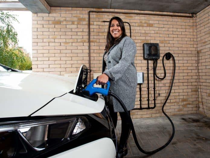 Electric Nation V2G charger