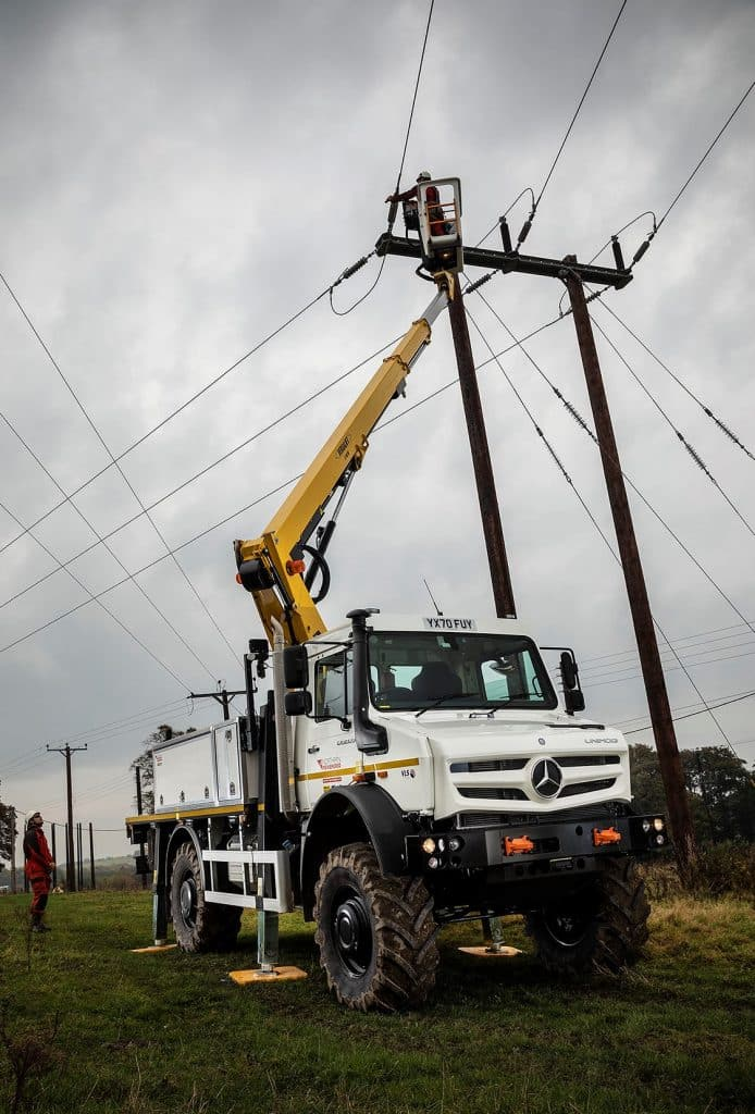 Unimog Northern Power Grid