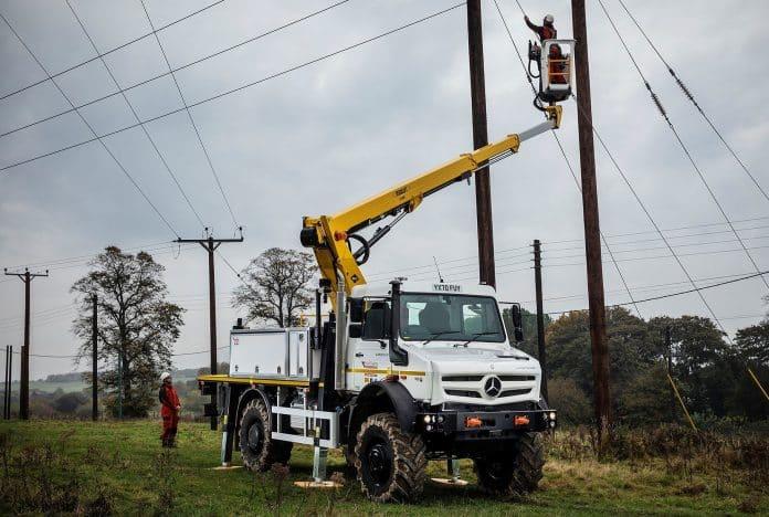 Unimog U5023 - Northern Powergrid