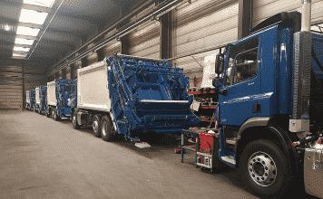 MOL VDK refuse vehicles