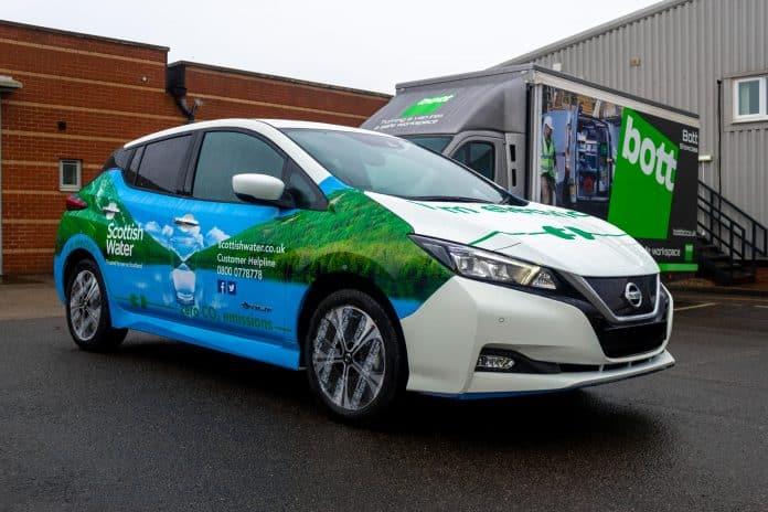 Scottish Water Nissan Leaf