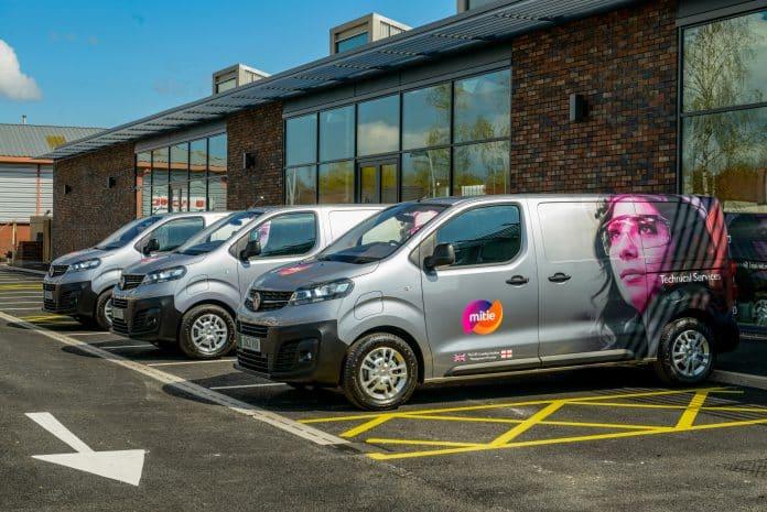 Mitie Vauxhall Vans