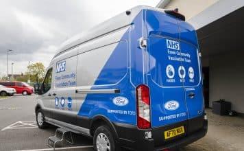 Ford NHS Vacination vehicle