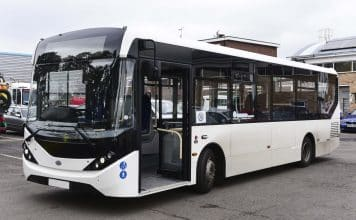 Epsom and St Helier NHS Enviro200 bus