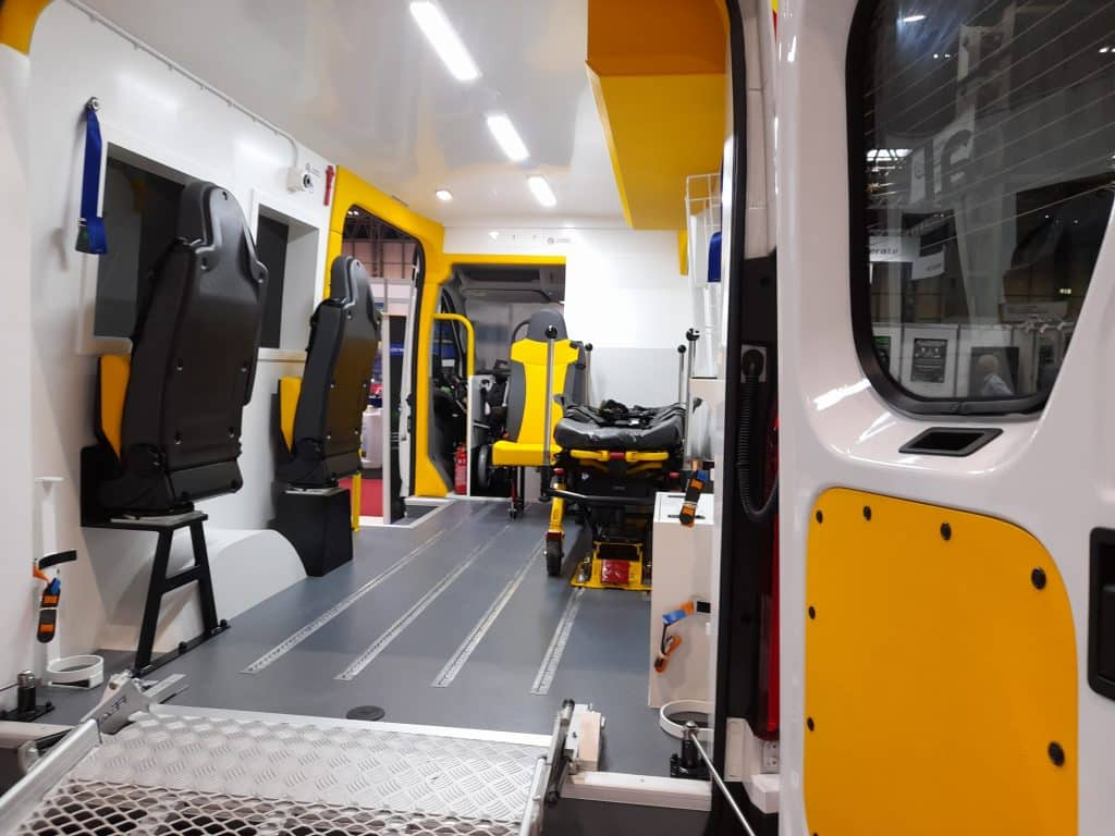 ERS Medical_Electric Ambulance_Rear